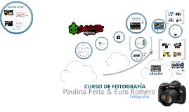 CURSO DE FOTOGRAFÍA 2
