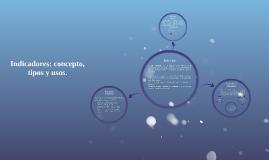 Indicadores: concepto, tipos y usos.