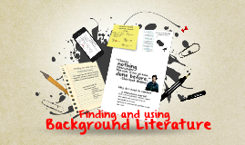 Finding and Using Related Literature
