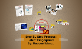 Step By Step Process: