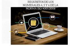 REQUISITOS DE LOS NUMERALES 4, 5 Y 6 DE LA NORMA ISO 9001:20
