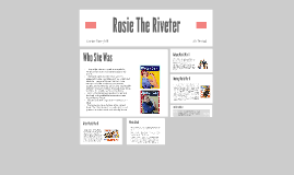 Rosie The Riveter by Carter Berryhill