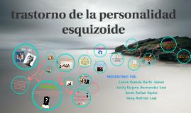 trastorno de la personalidad esquizoide