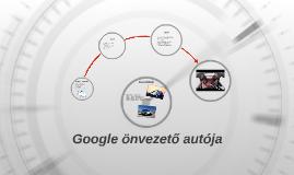 Google önvezető autója