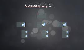 Company Org Ch