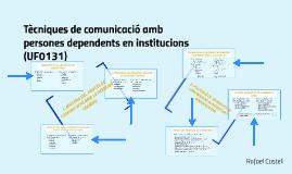 Tècniques de comunicació amb persones dependents en instituc
