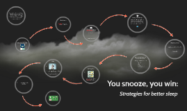 Copy of You snooze, you win: Strategies for better sleep