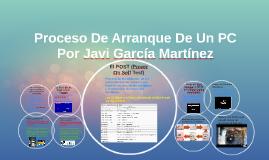 Copy of Proceso De Arranque De Un PC