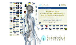 Low Back Pain: Controversies and Efficacy of Clinical Practice Guidelines