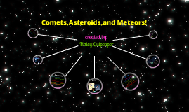 Copy of Comets, Asteroids, and Meteors by haley culpepper ...