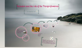 Inclusion and the Parapro