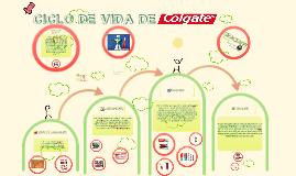 CICLO DE VIDA DE COLGATE