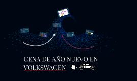 CENA DE AÑO NUEVO EN VOLKSWAGEN