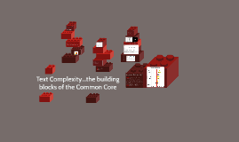 Text Complexity...the building blocks of the Common Core