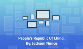 People's Republic Of China.