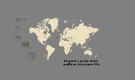 Inmigración y gestión cultural: desafíos para la