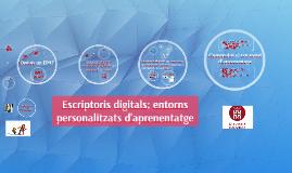 Escriptoris digitals: entorns personals d'aprenentatge