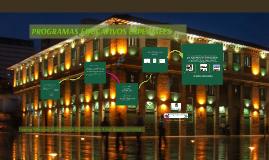 Copia de Copy of PROGRAMAS EDUCATIVOS ESPECIALES