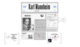 Karl Mannheim