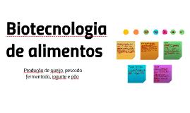 Biotecnologia alimentar