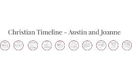 Christian Timeline - Austin and Joanne
