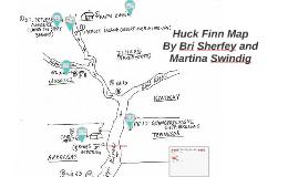 Huck Finn Map by Martina Swindig on Prezi