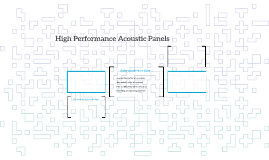High Performance Acoustic Panels