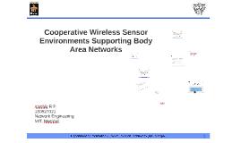 Cooperative Wireless Sensor Environments