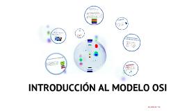 INTRODUCCIÓN DE MODELO OSI