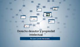 Derecho de autor y propiedad intelectual