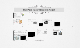 202 - The Post-Reconstruction South