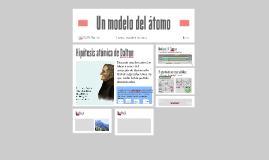 Un modelo del átomo