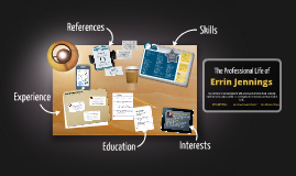 Desktop Prezumé by Errin Jennings