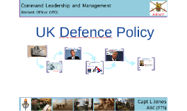 UK Defence Policy - WO