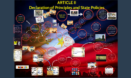 ARTICLE II Declaration of Principles and State Policies