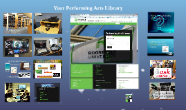 Copy of Your Performing Arts Library
