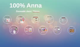 100% Anna boekenbeurt