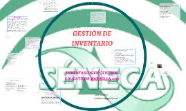 GESTIÓN DE INVENTARIO