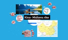 Kina- Midtens rike