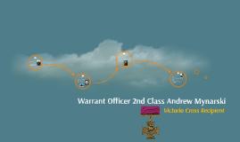 Warrant Officer 2nd Class Andrew Mynarski