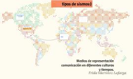 Copy of Medios de representación  comunicación en diferentes cultura