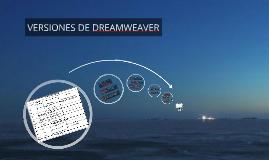Copy of VERSIONES DE DREAMWEAVER