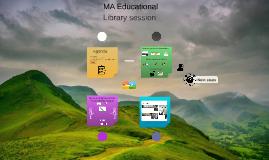 MA Educational Leadership