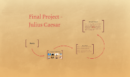 Final Project - Julius Caesar