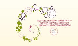 Capitulo 8: NEUTOTRANSMISIÓN ADRENERGICA: SISTEMA NERVIOSO SIMPATICO: FÁRMACOS SIMPATICOMIMÉTICOS