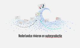 M4 H2 Nederlandse rivieren en waterproductie