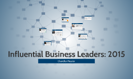 Influential Business Leaders: 2015