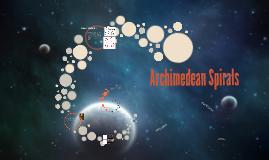 Archimedes Spirals