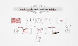 Muni Awards 2018 - Seriados Edition
