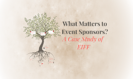 What Matters to Event Sponsors?